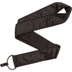 """Planet Waves Woven Classical 2"""" Guitar Strap (Black Satin)"""