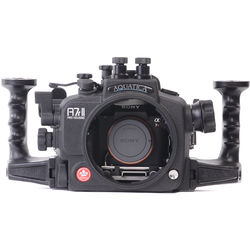 Aquatica A7r II Underwater Housing for Sony Alpha a7R II or a7S II with Vacuum Check System (Dual Optical Strobe Connectors)
