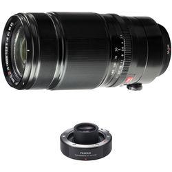 Fujifilm XF 50-140mm f/2.8 R LM OIS WR Lens with 1.4x Teleconverter Kit