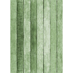 Westcott Rustic Wood Art Canvas Backdrop with Grommets (5 x 7', Green)