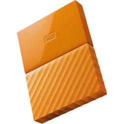 WD 3TB My Passport USB 3.0 Secure Portable Hard Drive (Orange)