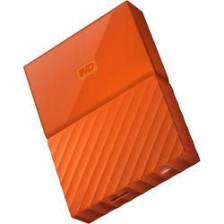 WD 4TB My Passport USB 3.0 Secure Portable Hard Drive (Orange)