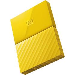 WD 3TB My Passport USB 3.0 Secure Portable Hard Drive (Yellow)