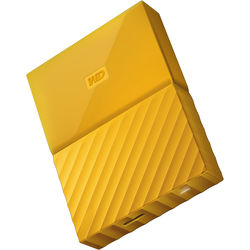 WD 4TB My Passport USB 3.0 Secure Portable Hard Drive (Yellow)