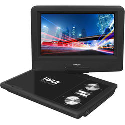 "Pyle Home 7"" Portable DVD Player (Black)"