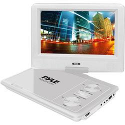 "Pyle Home 7"" Portable DVD Player (White)"