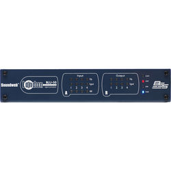 BSS Audio 4x4 Signal Processor with BLU Link