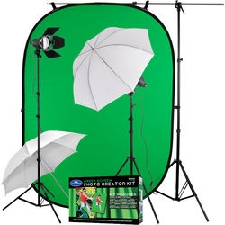 Angler Green Screen 2-Light Kit