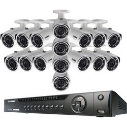Lorex by FLIR 16-Channel 4MP NVR with 3TB HDD and 16 3MP Outdoor Bullet Cameras