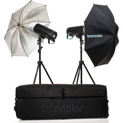 Broncolor Siros 400 Basic 2-Light Kit