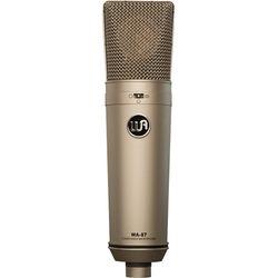 Warm Audio WA-87 Multi-Pattern Condenser Microphone (Nickel)