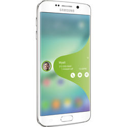 Samsung Galaxy S6 edge SM-G925A 64GB AT&T Branded Smartphone (Unlocked, White)