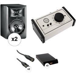 JBL JBL Laser 305 Studio Monitors with Monitor Controller Kit