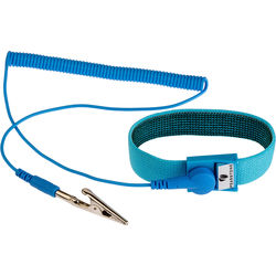 Pearstone Anti-Static Wrist Strap (6', Blue)