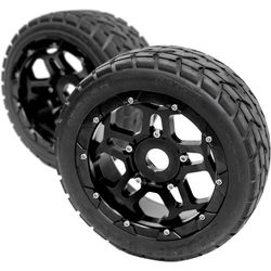 """CINEGEARS 170 x 60mm Spare Tire for Select RC Cars (2.9"""" Tread)"""