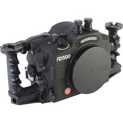 Aquatica AD500 Underwater Housing for Nikon D500 with Aqua VF (Dual Nikonos Strobe Connectors)