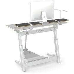 """Focal Upright Furniture Locus Shelf (56 x 10"""", Matte Black Laminate)"""