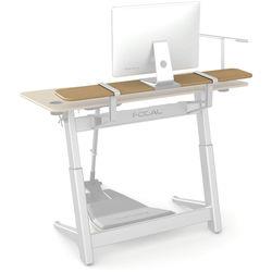"""Focal Upright Furniture Locus Shelf (56 x 10"""", White Oak Veneer)"""