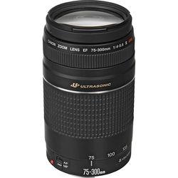 Canon EF 75-300mm f/4-5.6 III USM Lens (Refurbished)