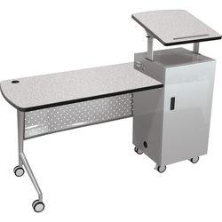 Balt Trend Podium Desk (Gray Nebula)