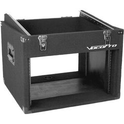 VocoPro Slanted Top Mixer Transport Case (12 RU)