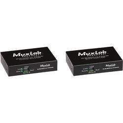 MuxLab 3G-SDI Over IP Extender Kit with PoE