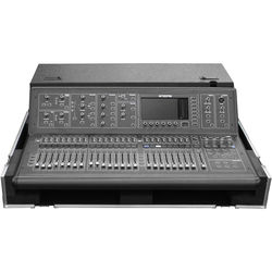 Odyssey Innovative Designs Flight Zone Case with Doghouse Cable Cover & Wheels for Midas M32 Mixing Console