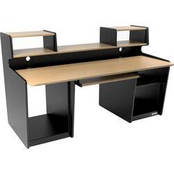Omnirax ProStation Audio / Video Editing Workstation (Maple Formica)