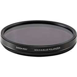 Singh-Ray 82mm Standard Ring Gold-N-Blue Polarizer Filter