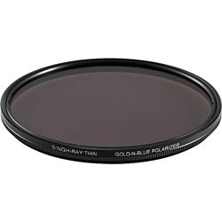 Singh-Ray 82mm Thin Ring Gold-N-Blue Polarizer Filter