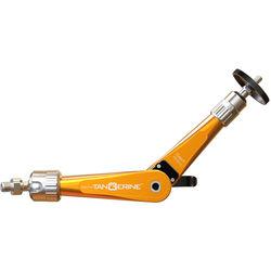 "Bright Tangerine Titan Support Arm with Pivot Head 3/8"" to 1/4"" Mount (Orange)"