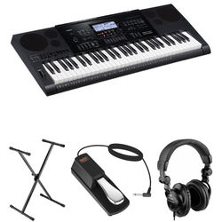 Casio CTK-7200 Portable Keyboard Value Bundle