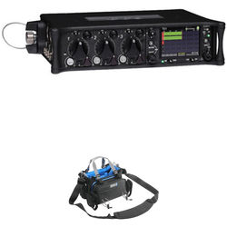 Sound Devices 633 6-Input Compact Field Mixer / Recorder Kit with Mixer Bag