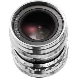 Voigtlander Ultron 35mm f/1.7 Aspherical Lens (Silver)