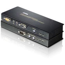 ATEN USB VGA/Audio over Cat5 KVM Extender Kit with Serial Support (656')