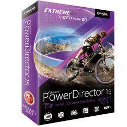 CyberLink PowerDirector 15 Ultimate Suite (Download)