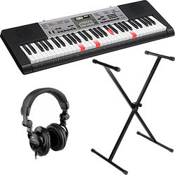 Casio LK-175 Key-Lighting Keyboard Kit with Stand and Headphones