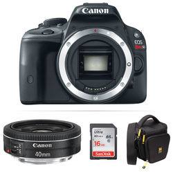 Canon EOS Rebel SL1 DSLR Camera Body Kit with EF 40mm f/2.8 STM Lens