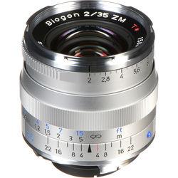 Zeiss Biogon T* 35mm f/2 ZM Lens (Silver)