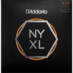 D'Addario NYXL1046BT Balanced Tension NYXL Nickel Wound Electric Guitar Strings (6-String Set, 10 - 46)