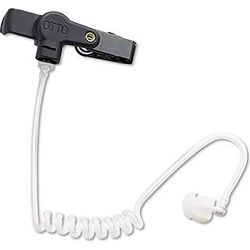 Otto Engineering Replacement Quick-Disconnect Adapter with Dynamic Earphone & Acoustic Tube (Black)