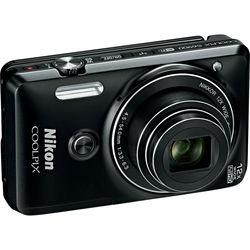 Nikon COOLPIX S6900 Digital Camera (Black, Refurbished)
