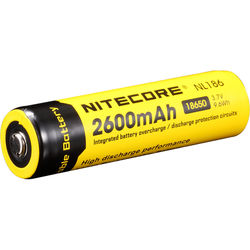 Nitecore Nitecore 18650 Li-Ion Rechargeable Battery (3.7V, 2600mAh)