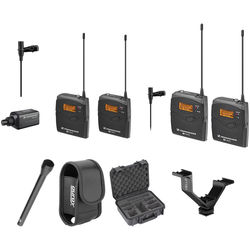 Sennheiser ew 100 ENG G3 Dual Wireless Basic Kit - A1 (470-516 MHz)
