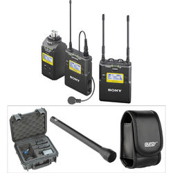 Sony UWP-D16 Integrated Digital Wireless ENG Basic Kit (UHF Channels 42/51: 638 to 698 MHz)