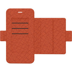 mophie Hold Force Folio for iPhone 7 Plus and iPhone 8 Plus (Navy/Orange)