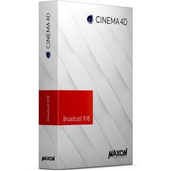 Maxon Cinema 4D Broadcast R18 (Download)