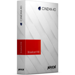 Maxon Cinema 4D Broadcast R18 Multi-License Discount (Download)