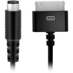 """IK Multimedia 30-Pin to Mini-DIN Cable for Select iRig Devices (23.6"""")"""