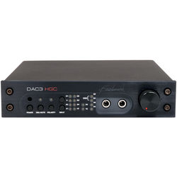 Benchmark DAC3-HGC Reference DAC and Stereo Preamp with HPA2 Headphone Amplifier (Black)